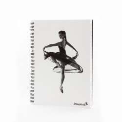 "Danzarte ""Turning Pointe"" A5 Spiral Notebook"