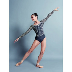 Ballet Rosa Lyman Long Sleeve Leotard