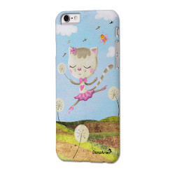 "DanzArte ""Dancing Cat On Meadow"" iPhone 6 Case"