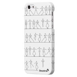 "DanzArte ""Stick Figures"" iPhone 5/5S/SE Case"