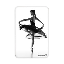 "DanzArte ""Turning Pointe"" Vinyl Laminated Magnet"