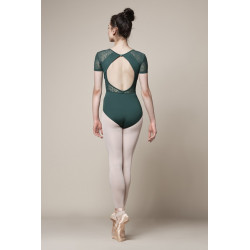 Bloch M5073 Ladies V Neckline Open Back Leotard